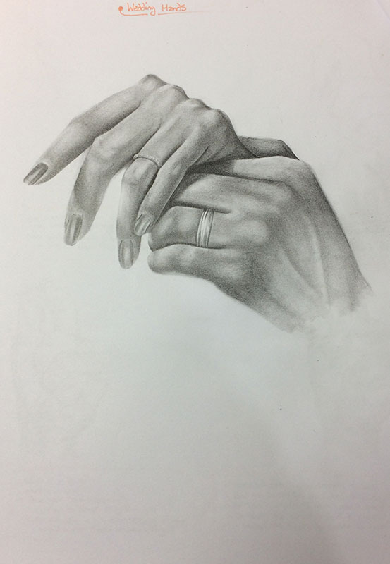 Another hand drawing, by Artist Sophie Lawson