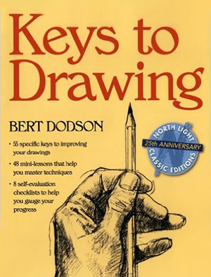 Keys to Drawing by Bert Dodson - Cover