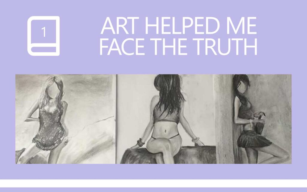Art Helped Me Face The Truth of who I was ... a Transgender Diary Entry with Transgender Artist & Model Sophie Lawson