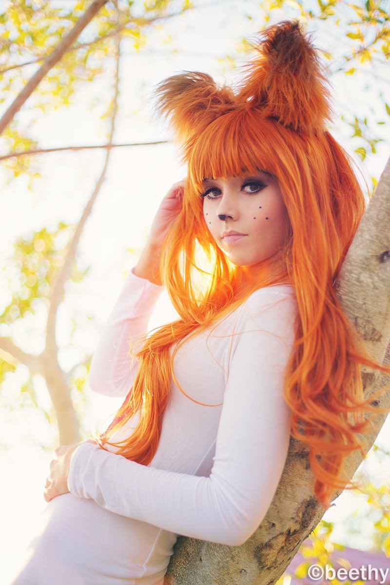 Cosplayer Amy Thunderbolt as Bubsy