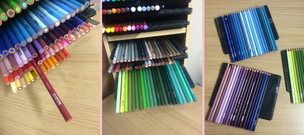 How To Make Your Own Coloured Pencil Storage Unit For Prismacolor Pencils,  By Artist Sophie