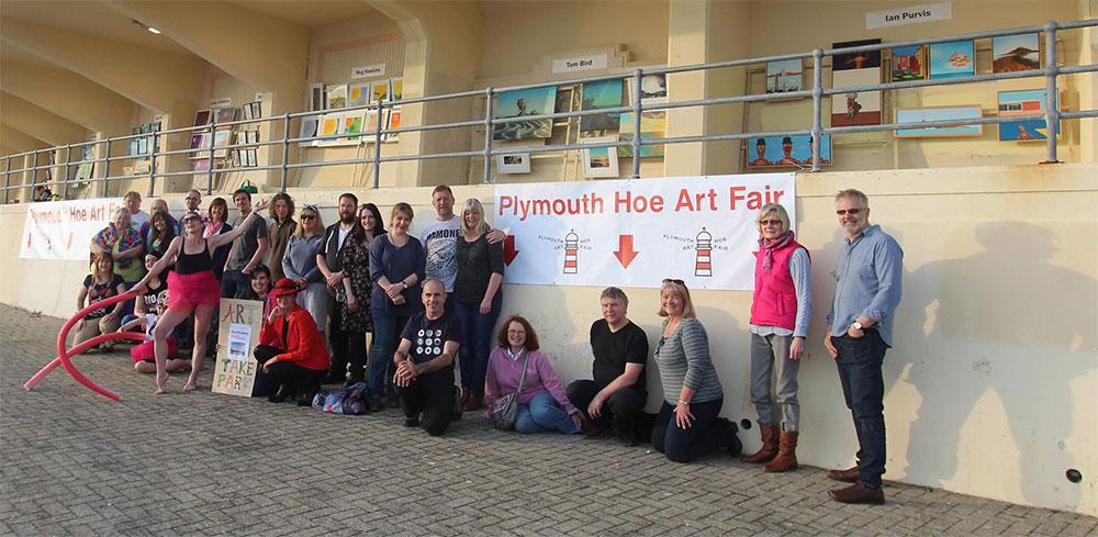 The Original Plymouth Hoe Art Fair Artists