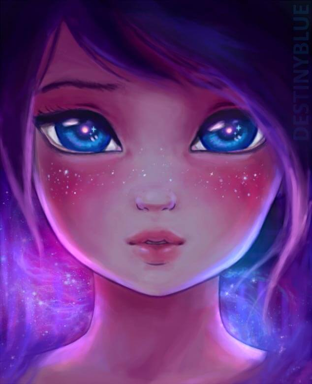Young Universe, Digitial Artwork by Artist DestinyBlue