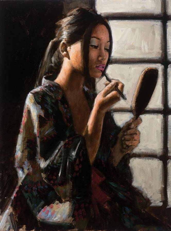 Geisha by Traditional Artist Fabian Perez