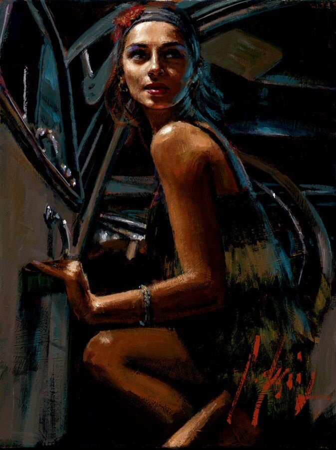 Glamour by Traditional Artist Fabian Perez
