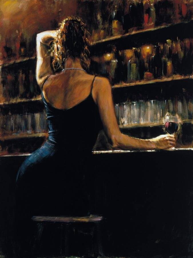 Lettizia by Traditional Artist Fabian Perez