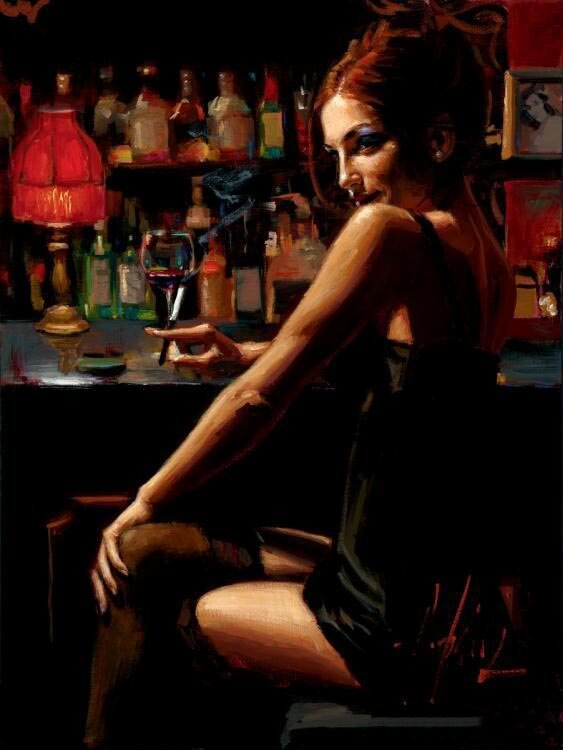 Marissa by Traditional Artist Fabian Perez