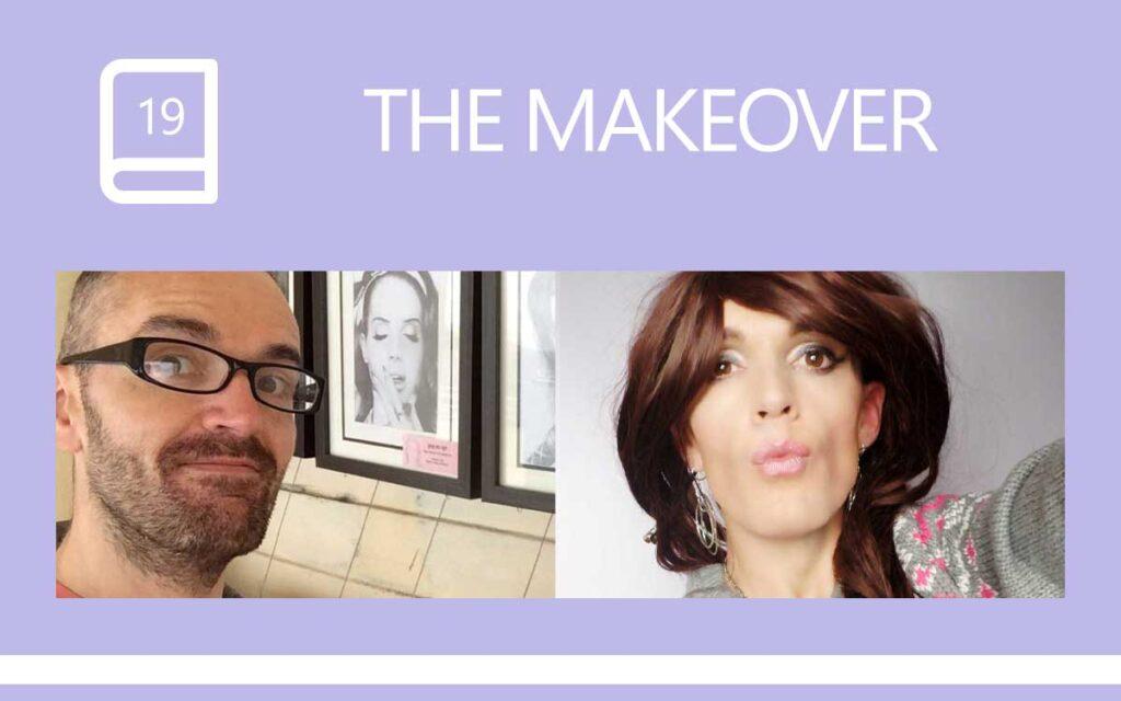 The Transgender Makeover - before and after, with Transgender Model & Artist Sophie Lawson