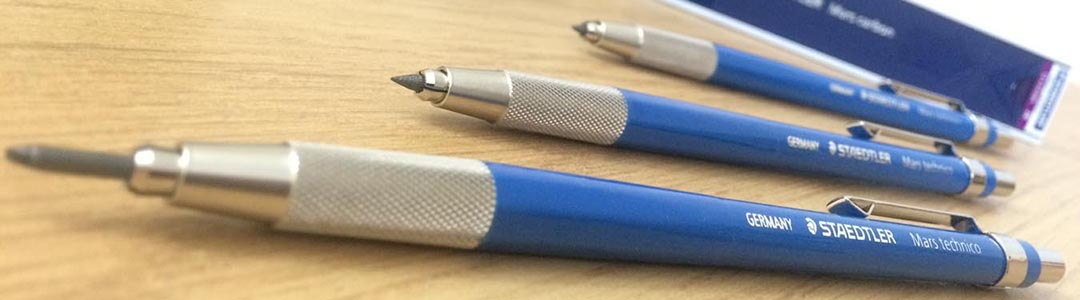 Recommended Tool - STAEDTLER MARS TECHNICO 2mm CLUTCH PENCILS