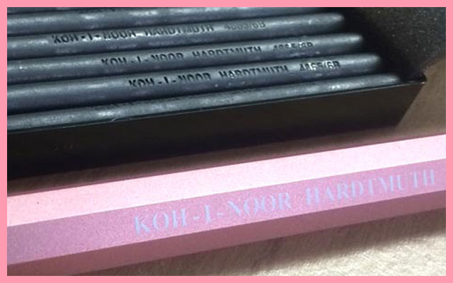 KOH-I-NOOR HARDTMUTH 6B CLUTCH PENCIL