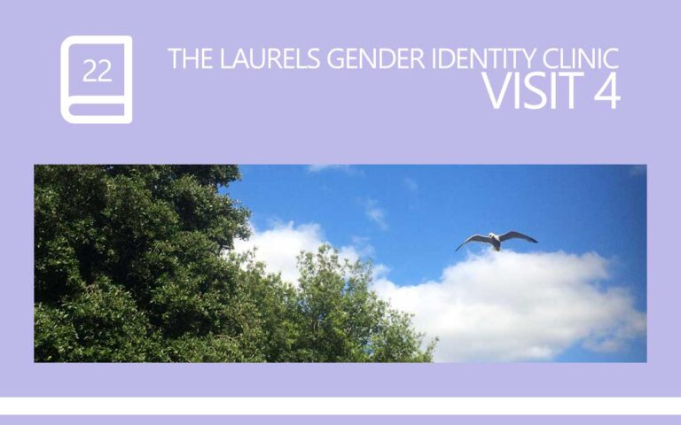 22 • THE LAURELS GENDER IDENTITY CLINIC VISIT 04