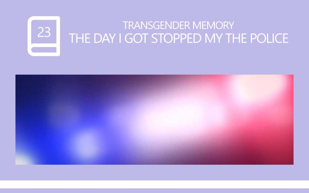 The day I got Stopped by the Police, with Transgender Model & Artist Sophie Lawson