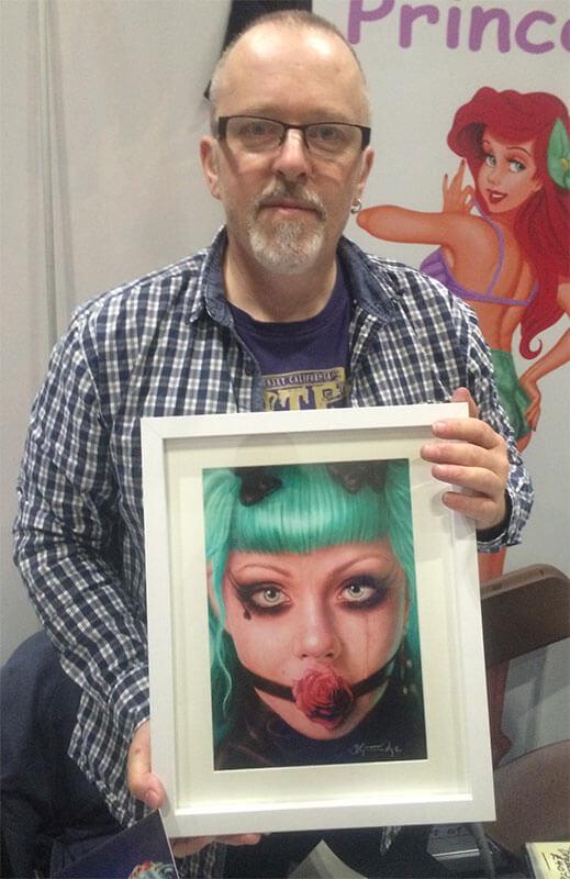 Digital Artist Duncan Gutteridge