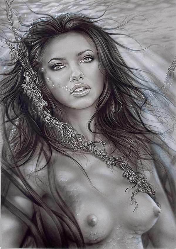 Mermaid, by Digital Artist Duncan Gutteridge