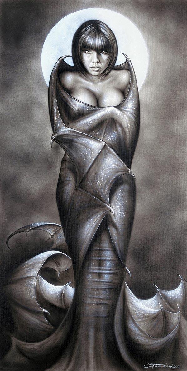 Vamp, by Digital Artist Duncan Gutteridge