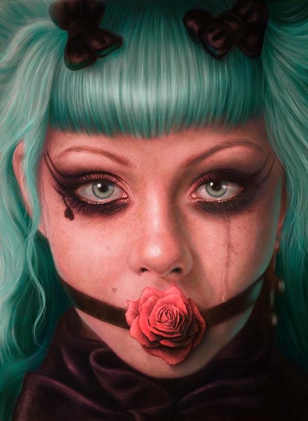 Loligoth, by Digital Artist Duncan Gutteridge