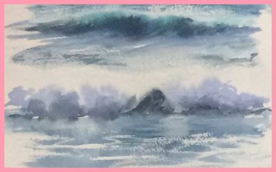 CAPTURING THE SEA IN WATERCOLOUR, WITH WENDY PARKYN