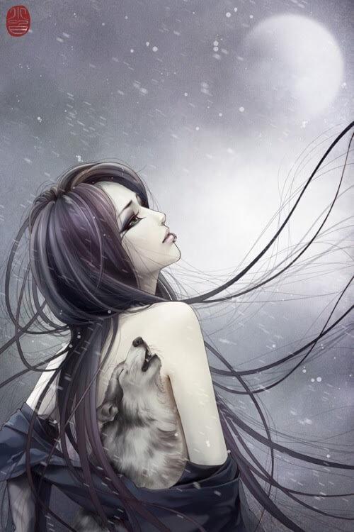 Cold, by Digital Artist Zhang Xiao Bai