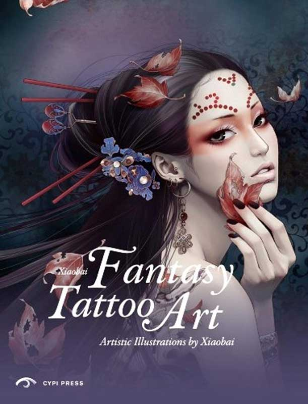 Fantasy Tattoo Art Book by Artist Zhang Xiao Bai
