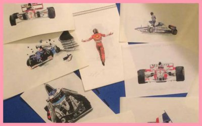 90's FORMULA ONE DRAWINGS