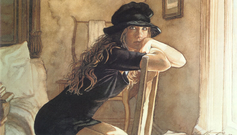 A Quiet Place, by Traditional Artist Steve Hanks