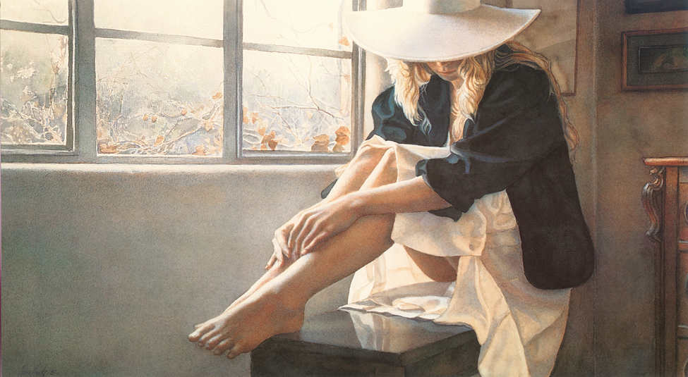 Felt Hat, by Traditional Artist Steve Hanks