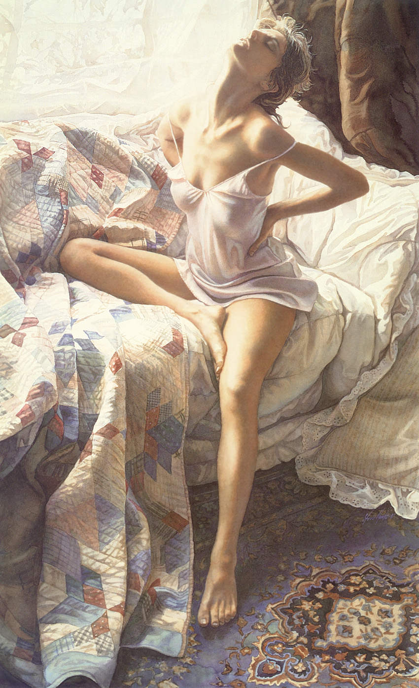 Inspiration, by Traditional Artist Steve Hanks