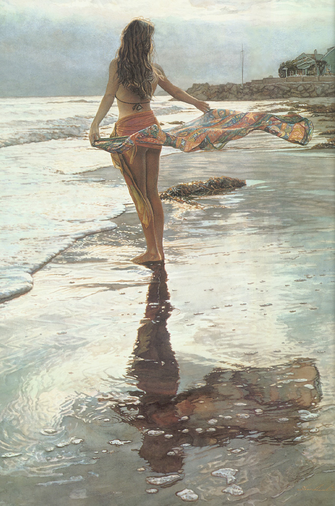 Ocean Breeze, by Traditional Artist Steve Hanks