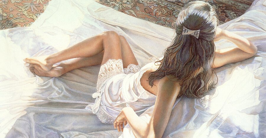 Sunlights Patterns, by Traditional Artist Steve Hanks