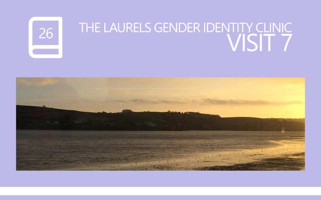 The Laurels Gender Identity Clinic Visit 7, with Transgender Model & Artist Sophie Lawson