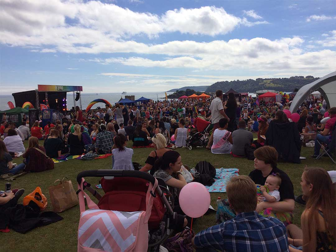 Plymouth Pride 2016, a Transgender Diary Entry with Transgender Artist & Model Sophie Lawson