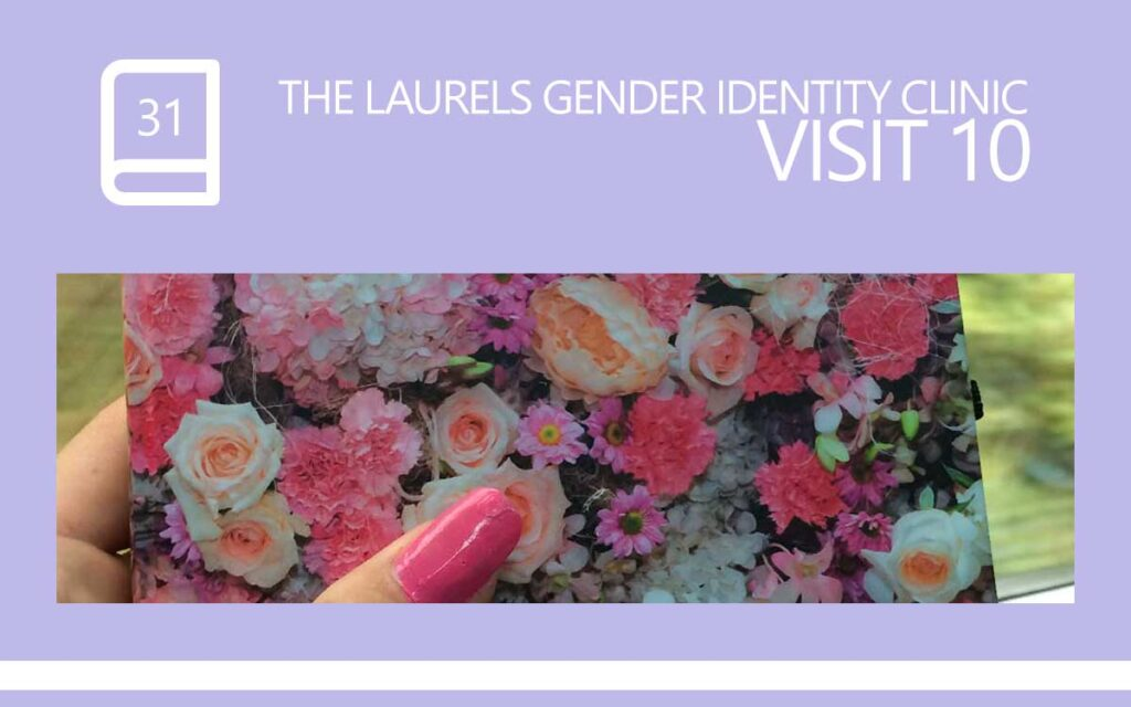 The Laurels Gender Identity Clinic Visit 10 - Wearing Pink Nail Polish as a Male, with Transgender Model & Artist Sophie Lawson