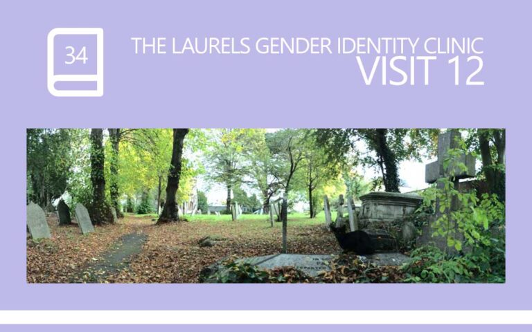 34 • THE LAURELS GENDER IDENTITY CLINIC VISIT 12