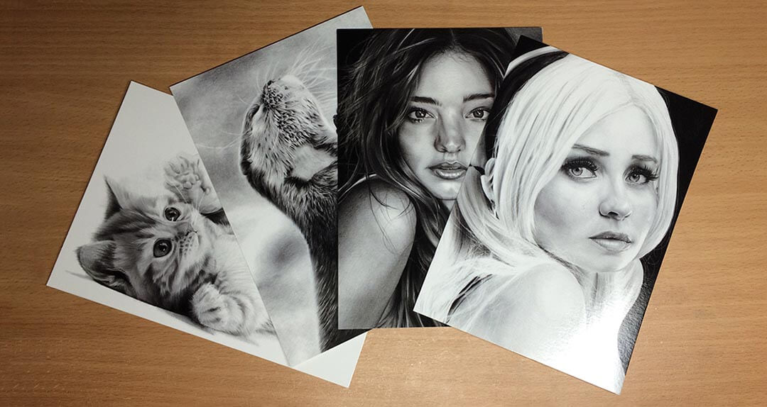 Win a Signed Postcard each month of one of my drawings, by Transgender Artist Sophie Lawson