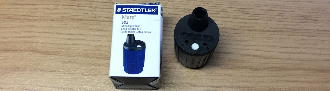 Staedtler Mars Lead Pointer Tub - One of Artist Sophie Lawson's Recommended Tools