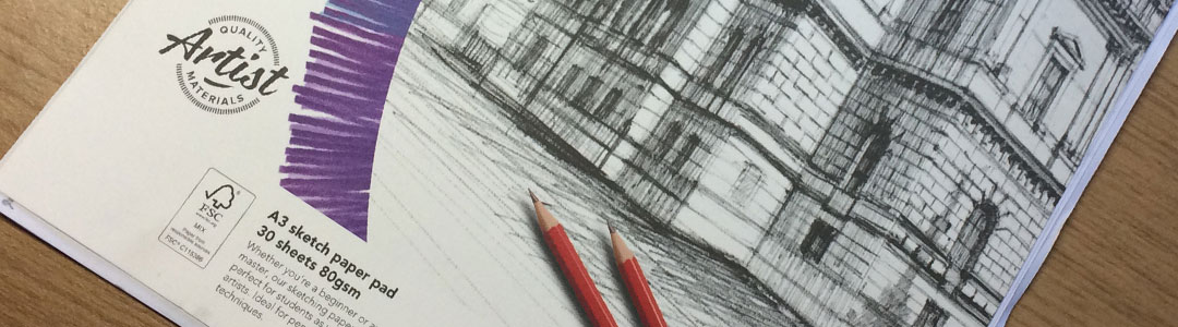 Cheap A3 Paper - One of Artist Sophie Lawson's Recommended Tools