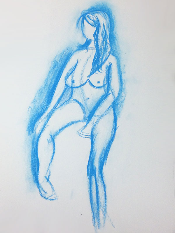 Life Drawing by Transgender Artist Sophie Lawson