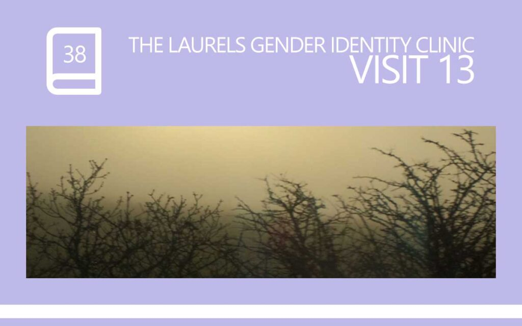 The Laurels Gender Identity Clinic Visit 13 - loneliness and suicidal thoughts, with Transgender Model & Artist Sophie Lawson