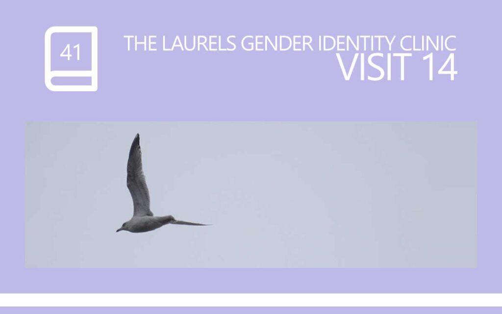 The Laurels Gender Identity Clinic Visit 14 - Child Abuse, with Transgender Model & Artist Sophie Lawson