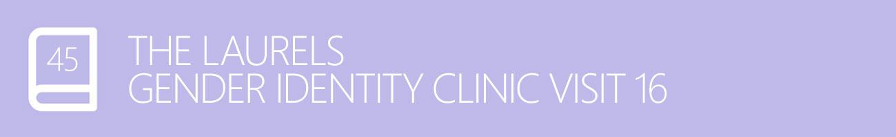 The Laurels Gender Identity Clinic Visit 16 - Dealing with Age, with Transgender Model & Artist Sophie Lawson