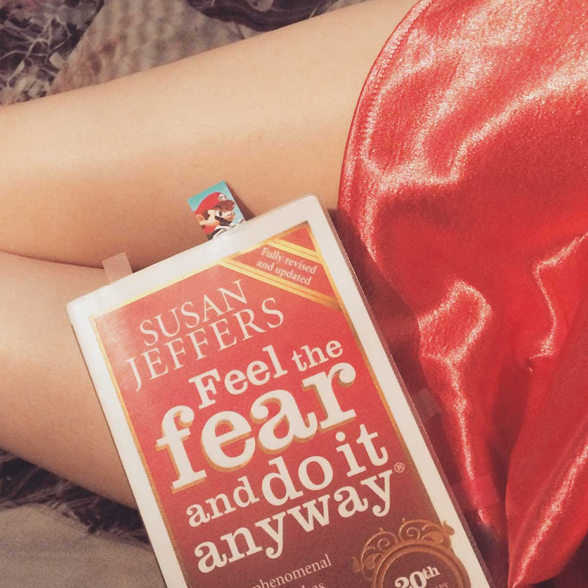 Feel the Fear and do it anyway by susan jeffers - The Mind Lies, with Transgender Model & Artist Sophie Lawson