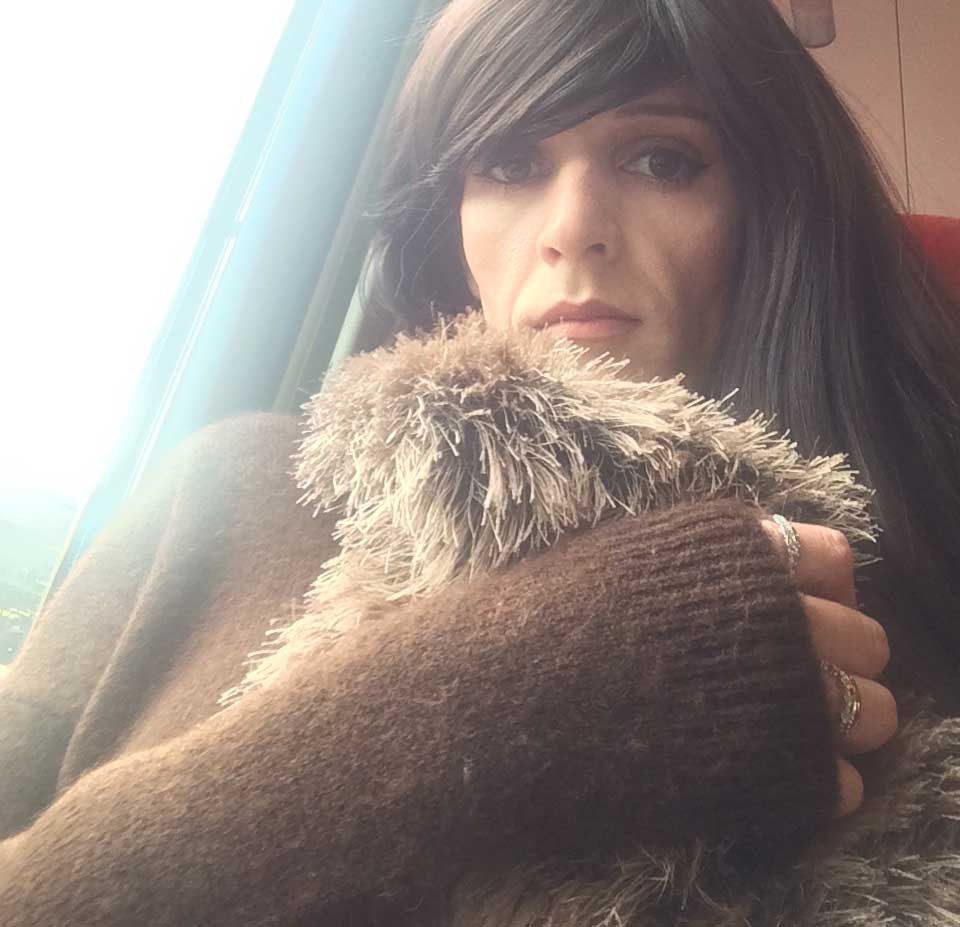 Train Ride to The Laurels Gender Identity Clinic Visit 17 - The Mind Lies, with Transgender Model & Artist Sophie Lawson