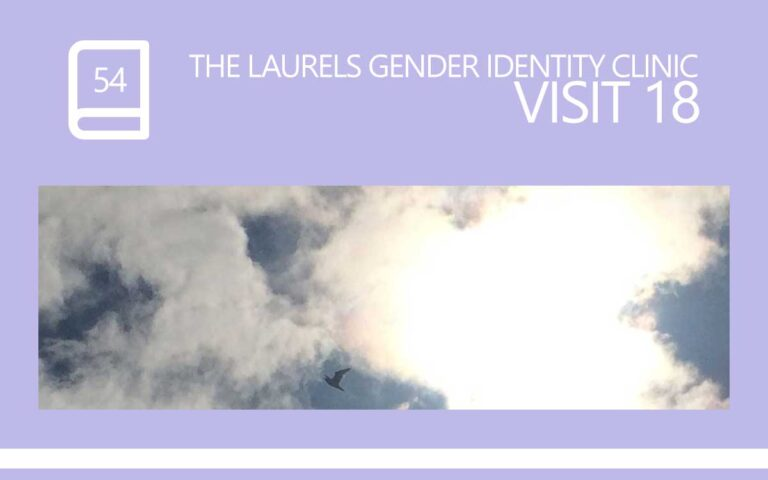 54 • THE LAURELS GENDER IDENTITY CLINIC VISIT 18