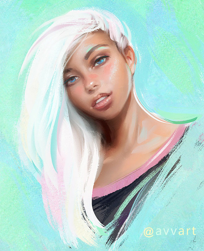 Creame by Artist Aleksei Vinogradov