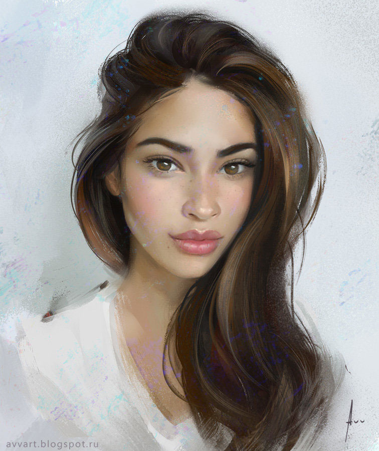 Juliana by Artist Aleksei Vinogradov