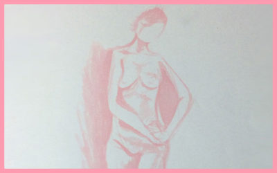 QUICK POSE LIFE DRAWING SKETCH