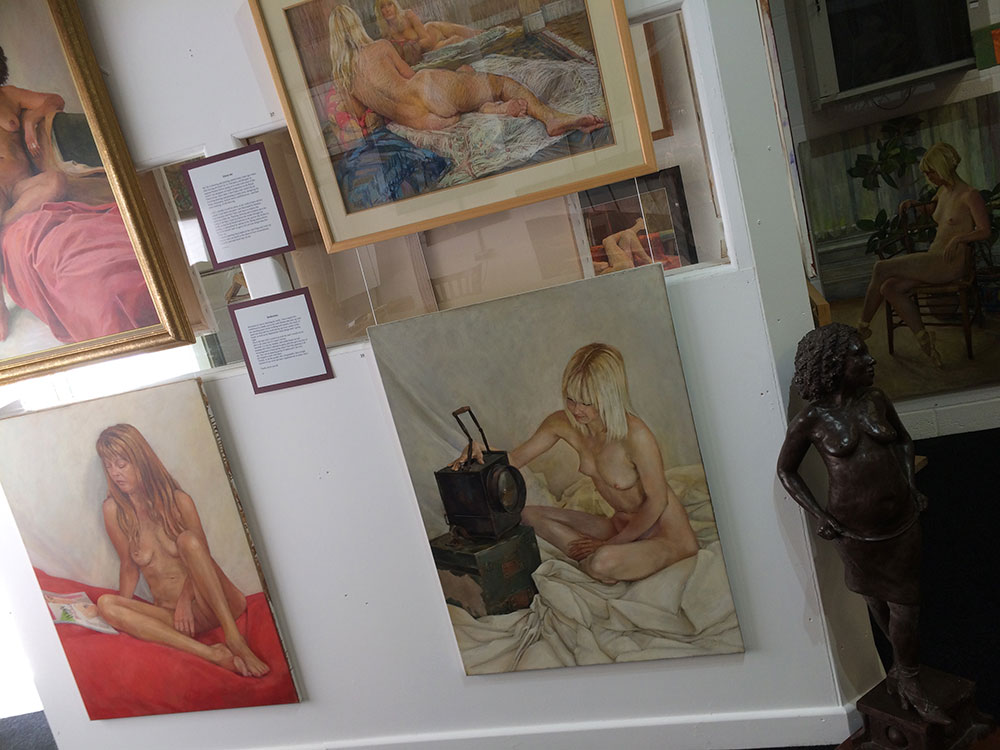 Ian Barlow Passion for Life 2017 Art Exhibition - Paintings