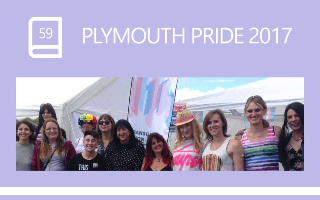 Plymouth Pride 2017, a Transgender Diary Entry with Transgender Artist & Model Sophie Lawson
