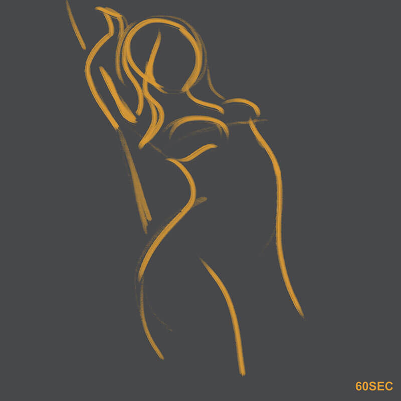 Learning Digital Painting Day 006 - Gesture Drawing