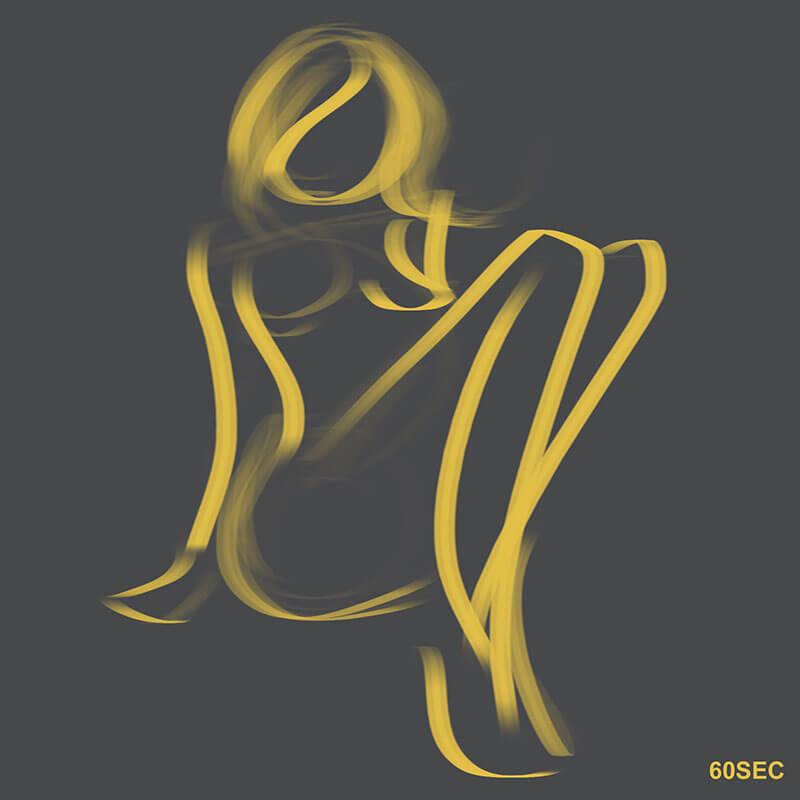 Learning Digital Painting Day 007 - Gesture Drawing